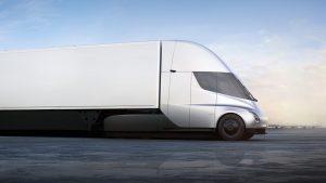 Autonomous Tesla Semi